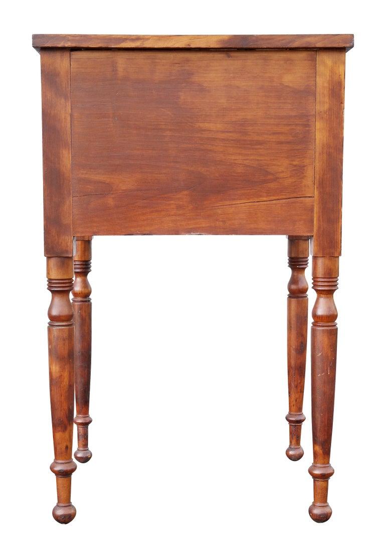 Federal Mahogany Bedside Table 5