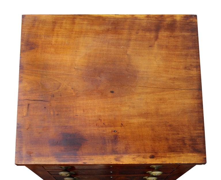 American Federal Mahogany Bedside Table