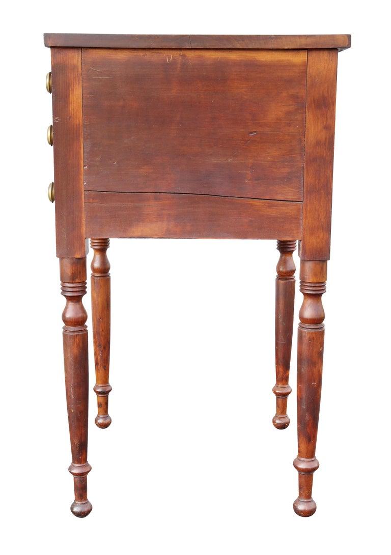 Federal Mahogany Bedside Table 4