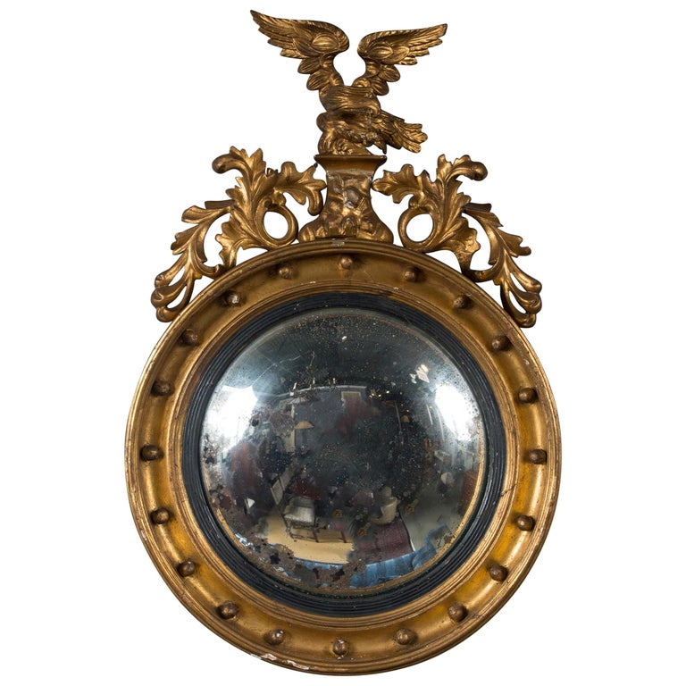 Federal mirror, mid-19th century, offered by Hamptons Antique Galleries II LLC