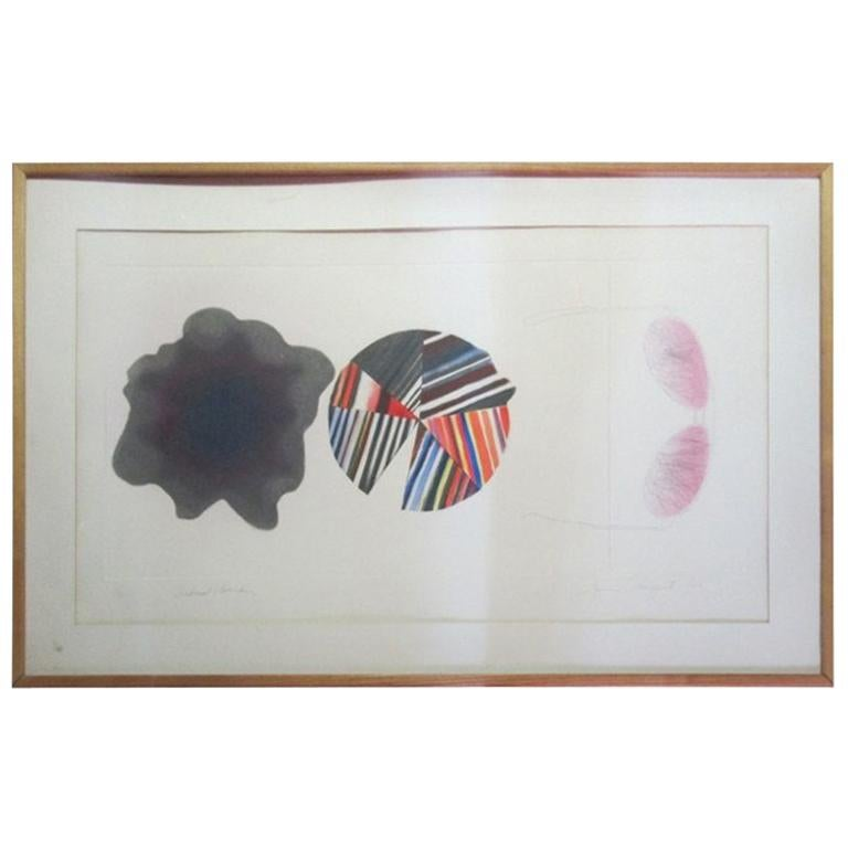 """""""Federal Spending"""" by James Rosenquist Ed. 18/78 - Pencil Signed"""