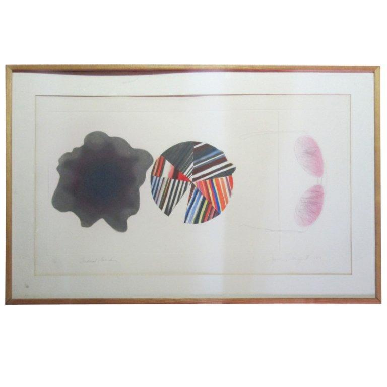 """""""Federal Spending"""" by James Rosenquist Ed. 18/78 - Pencil Signed For Sale"""