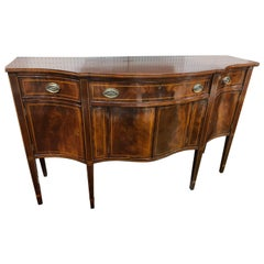 Federal Style Serpentine Sideboard