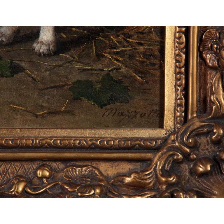 Federico Mazzotta 19th Century Oil on Canvas