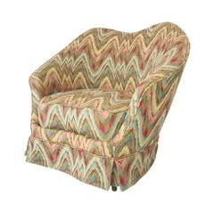 Federico Munari Chair in Original Missoni Fabric