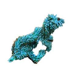 Blue Puppy (Scratching)