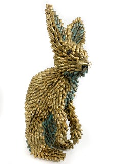 Gold and Green Rabbit