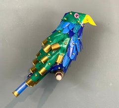 Green and Blue Bird