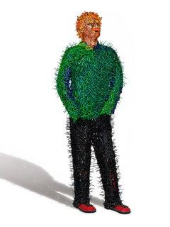 Green Shirt Man