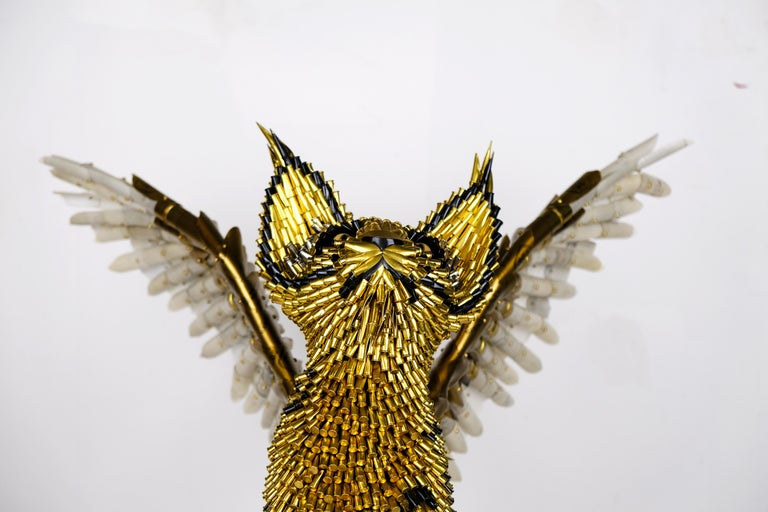 Griffin - Contemporary Sculpture by Federico Uribe