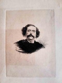 10 Eaux-fortes pour les Diaboliques - Original Etchings by Félicien Rops - 1886