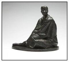 Felipe Castaneda Original Bronze Female Hand Signed Sculpture Authentic Artwork