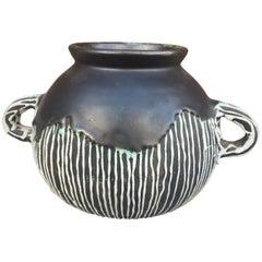 Felix Gete, Art Deco Ceramic Vase for Compagnie des Artistes Bordelais 'Cab'