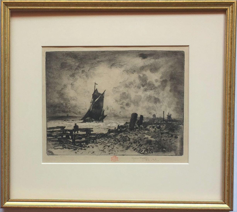 La petite marine -- Souvenir de Medway. (Little Seascape, a Remembrance of the M