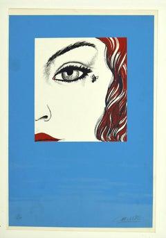 Fly - Original Serigraph by Félix Labisse - 1970s