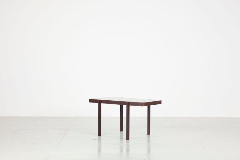 Steel Felix Muhrhofer Contemporary Terrazzo Table Duke Maria For Sale