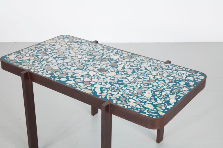 Felix Muhrhofer Contemporary Terrazzo Table Duke Maria For Sale 3