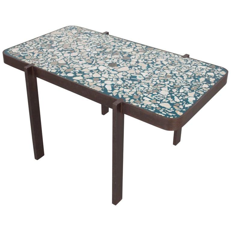 Felix Muhrhofer Contemporary Terrazzo Table Duke Maria For Sale