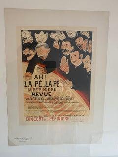 """""""Ah! la Pe . . . la Pe . . . la Pepiniere"""" from Les Maitres de l'Affiche"""