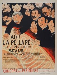 The Agitation (Pépinière) - Lithograph (Les Maîtres de l'Affiche), 1897