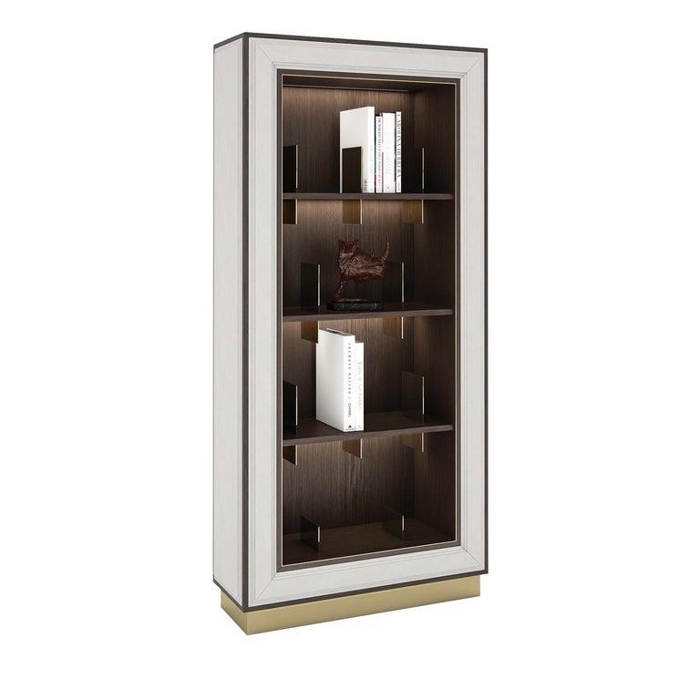 Italian Feliz Bookcase by Giannella Ventura For Sale
