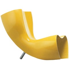 Felt Armchair by Marc Newson in Polished Lacquered Fiberglass