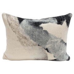 """Felted Wool Pillow """"Milky Way"""" Tribute to Steven Seinberg"""