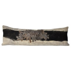 Felted California Wool Wensleydale Body Pillow backed in Merino Fabric, in stock