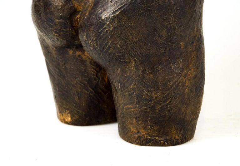 20th Century Female Bust Sculpture, by Aurelio Mistruzzi, 1930s For Sale