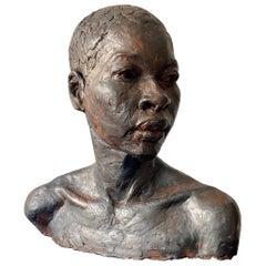 Female Bust Sculpture