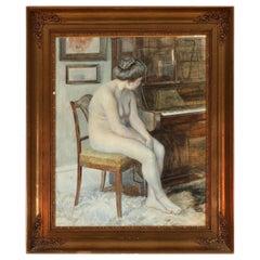 Female Nude by Christine Elisabeth Lund