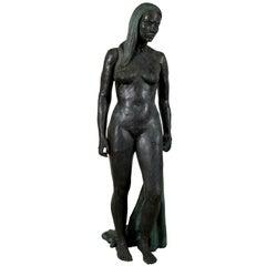 """Female Nude"" by Victor Jules Bergeron, Jr."