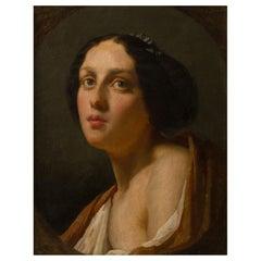 Female Portrait of the Empire Era