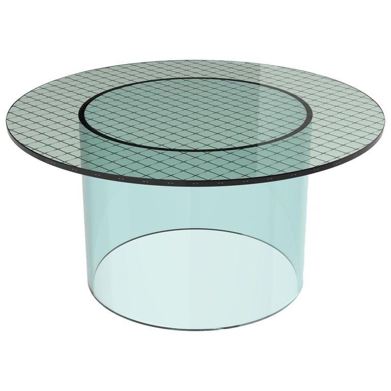 Fence Coffee Table By Pieces, Modern Interlayer Glass