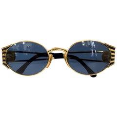 Fendi 1990s Roman God Coin Sunglasses
