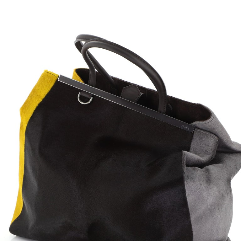Fendi 2Jours Bag Calf Hair Large 1