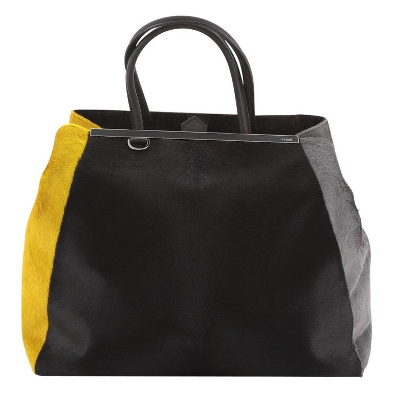 Fendi 2Jours Bag Calf Hair Large