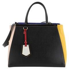 Fendi 2Jours Bag Leather Large