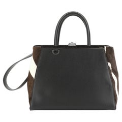 Fendi 2Jours Bag Pony Hair and Leather Large