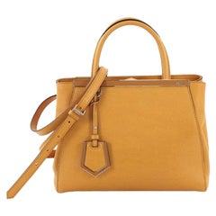 Fendi 2Jours Handbag Leather Petite