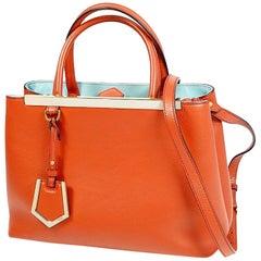 FENDI 2WAY 2JOURS Womens handbag 8BH253 3WL F09KU red x skyblue