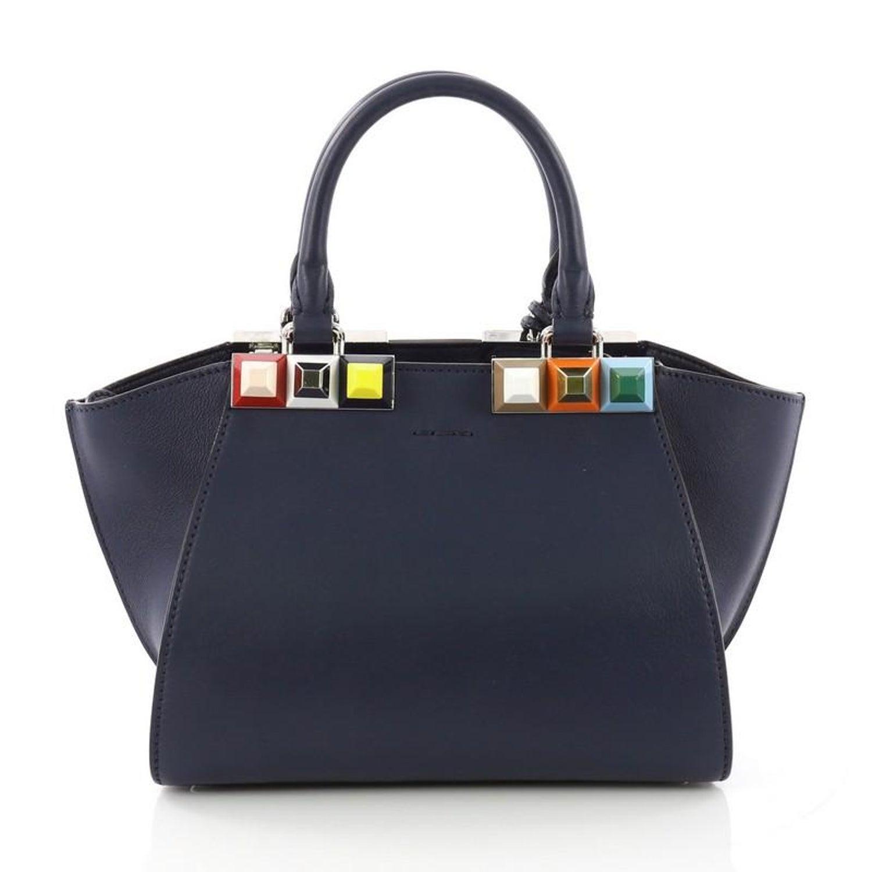 9b49b378dd Fendi 3Jours Handbag Studded Leather Mini at 1stdibs