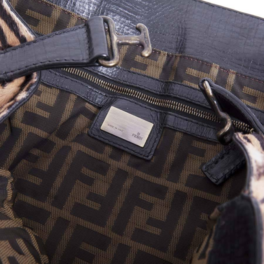 Fendi Bag In Goat Skin With A Zebra Pattern 27YPoO