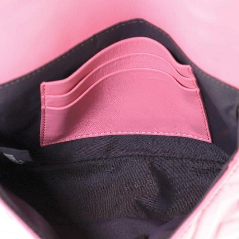 Fendi Baguette NM Bag Zucca Embossed Leather Mini 1