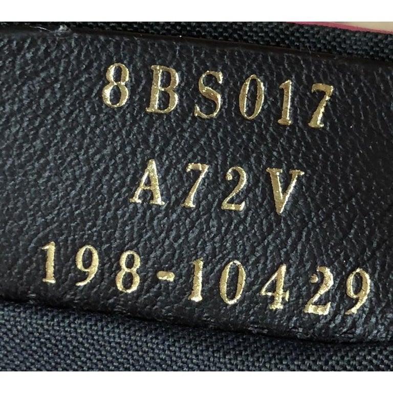 Fendi Baguette NM Bag Zucca Embossed Leather Mini 2
