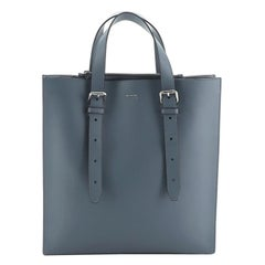 Fendi Belted Shopper Tote Leather Tall