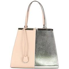 Fendi Bicolor 3Jours Bag Leather Large