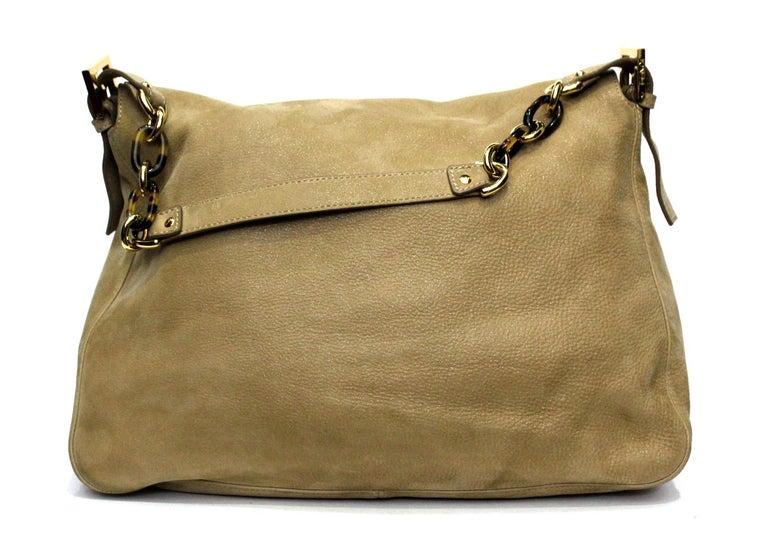 Women's Fendi Big Mama Leather Shoulder Bag For Sale