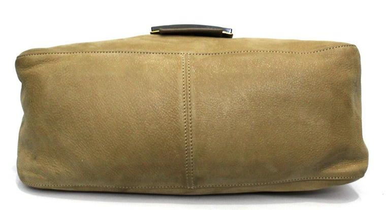 Fendi Big Mama Leather Shoulder Bag For Sale 1