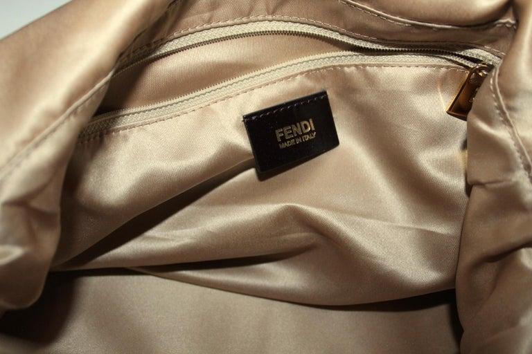 Fendi Big Mama Leather Shoulder Bag For Sale 2